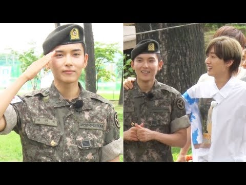 슈퍼주니어(Super Junior) 려욱(Ryeo Wook) 전역 '늠름한 남자로 컴백'