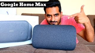 Google Home Max Unboxing And Setup In Hindi