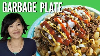 DIY GARBAGE PLATE | HARD TIMES - recipes from times of food scarcity