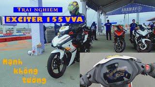 Katari trải nghiệm Exciter 155 VVA tại đường đua Đại Nam | Katari Ninja H2