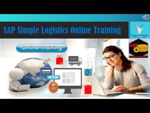 SAP S4 Hana Simple Logistics Online Training