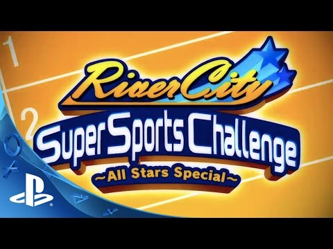 River City Super Sports Challenge ~All Stars Special~ Trailer