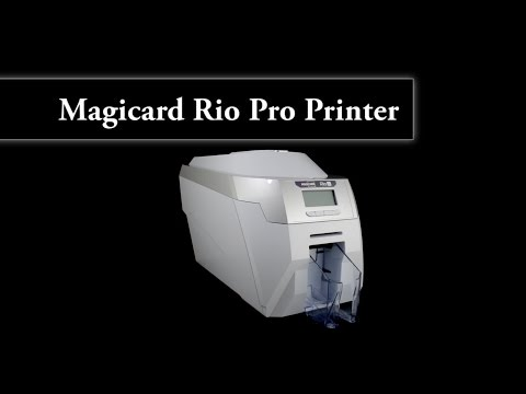 Magicard Rio Pro Single or Double-Sided photo ID card printer