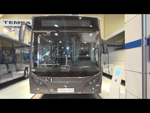 TEMSA Avenue iBUS Bus (2016) Exterior and Interior in 3D