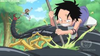 One Piece 504 - Ace and Luffy