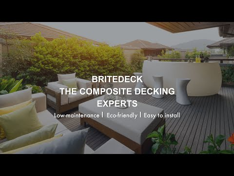 BriteDeck - The Composite Decking Experts