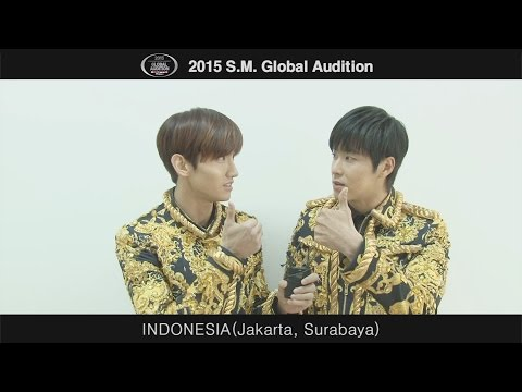 2015 S.M. GLOBAL AUDITION 'TVXQ! MESSAGE'
