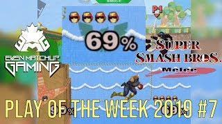 EMG SSBM Play of the Week 2019 - Episode 7 (Super Smash Bros. Melee)