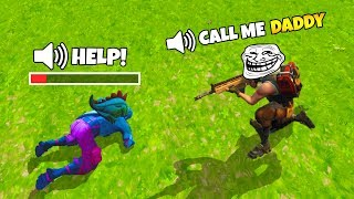 Call Me DADDY If You Wanna Live | Voice Chat Trolling | Fortnite Montage #3