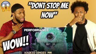 "The Monster Performs ""Don't Stop Me Now"" 