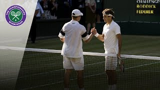 Roger Federer v Andy Roddick: Wimbledon Final 2009 (Extended Highlights)
