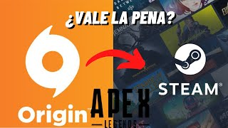 Diferencia de jugar APEX LEGENDS en Steam y Origin 👀