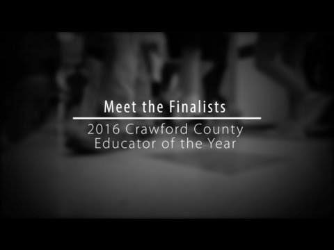 2016 Educator of the Year Finalists