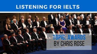 IELTS Listening Practice With Transcript: AWARDS BY CHRIS ROSE