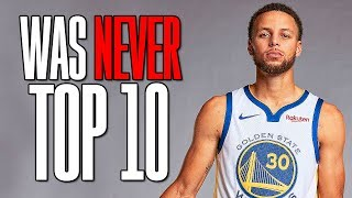 Stephen Curry Was NEVER a Top 10 NBA Player | Worst Take