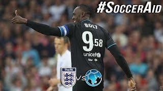 England XI vs World XI Highlights & Goals