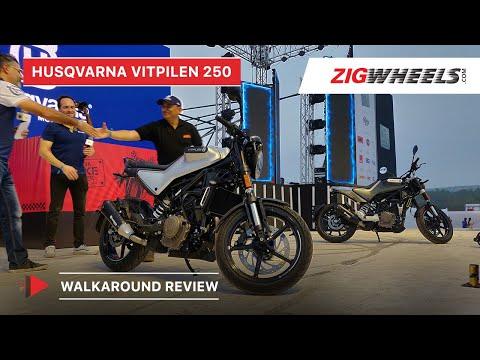 Husqvarna Vitpilen 250 India Unveil Walkaround Video, Specifications, Features, Details & More
