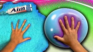 How to make a Giant Toothpaste Slime Stress Ball! DIY Slime How To! Wubble!