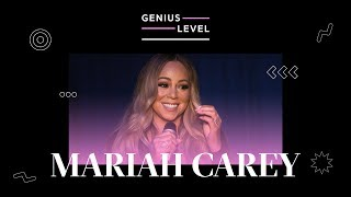 Mariah Carey Breaks Down Her Iconic Hits & Songwriting Process | Genius Level