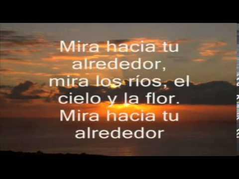 Karaoke - Mira hacia tu alrededor - Lerner & Gieco