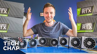 Nvidia RTX Buying Guide - Best Graphics Card For You? [1080p, 1440p & 4K TESTED] | The Tech Chap