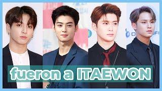 ¿Cuál es el PROBLEMA? IDOLS que FUERON a ITAEWON (jungkook, cha eunwoo, jaehyun y mingyu)