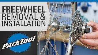 Freewheel Removal & Installation