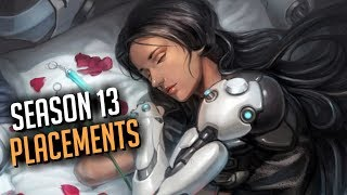 Season 13 Placements Montage | Mountains |  Overwatch