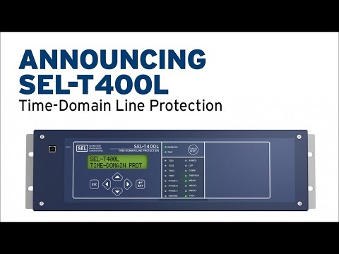 Announcing SEL-T400L Time-Domain Line Protection