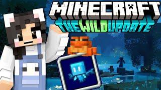 💙Minecraft 1.19 WILD UPDATE REACTION! Minecraft Live 2021