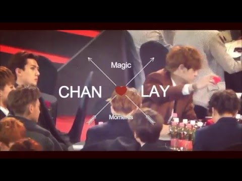 EXO Chanyeol and Lay Moments (Chanxing) - Magic