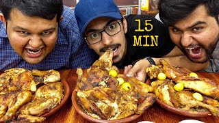 CHICKEN SAJJI CHALLENGE IN PAKISTAN -WHOLE GRILLED CHICKEN FOOD CHALLENGE, STREET FOOD IN LAHORE.