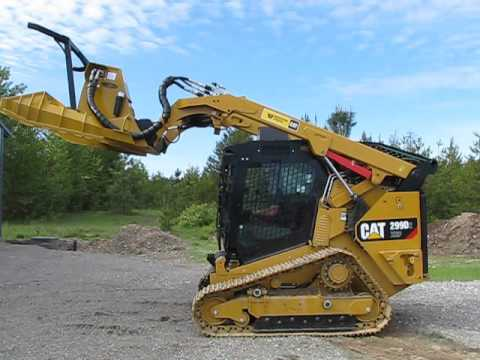 CAT 299D2 Forestry Package