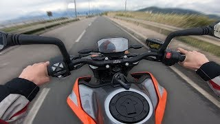 KTM 790 DUKE 2019 Test Ride [ITA]