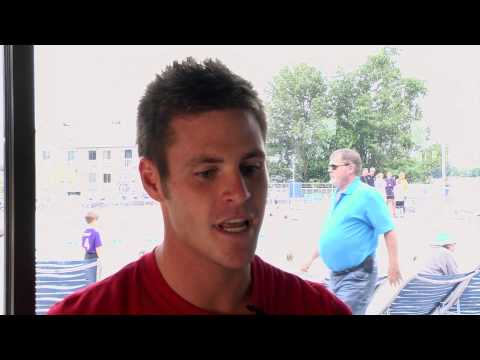 A Quick Interview With David Boudia - Wil Hampton - YouTube