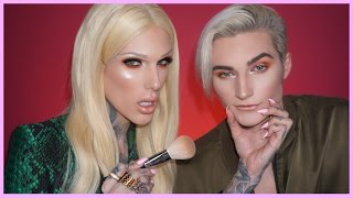 I DO MY BOYFRIEND'S BROTHER'S MAKEUP | Jeffree Star