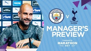 Guardiola Press Conference | Man City v Spurs