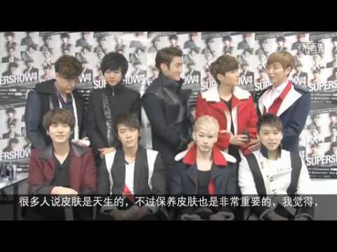 【中字】SJ中誰是公認的肌膚美男﹖誰化妝前後反差最大﹖