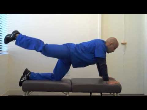 Exercises to reduce symptoms from a herniated disc
