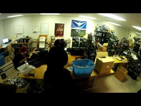 Yak Gear Kayak Angler Crate Production