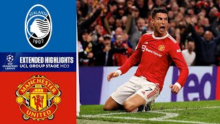 Manchester United vs. Atalanta: Extended Highlights | Group Stage - MD 3 | CBS Sports Golazo