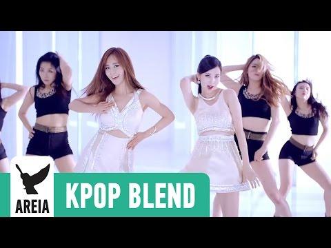 [KPOP MASHUP MV] Yuri x Seohyun x Dalshabet - Joker's Secret | Areia Kpop Blend #3A