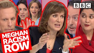 Row breaks out over Harry & Meghan royal finances question! | Question Time - BBC