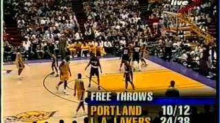 Rick Fox (24pts/5rebs/3asts) vs Trail Blazers (1998 Playoffs)