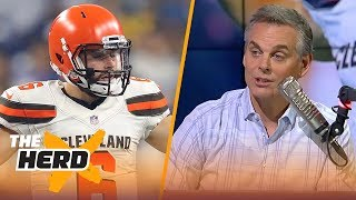 Colin Cowherd on Baker's play vs Detroit, expectations for Dak in Dallas | NFL | THE HERD