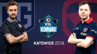 Dota 2 - OG vs. Gambit - Game 2 - LB Final - ESL One Katowice 2019