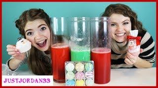 Testing Holiday BATH BOMBS Challenge / JustJordan33