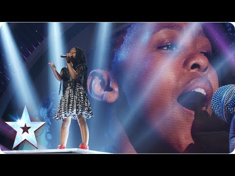 Asanda the mini diva singing beyonce 39 s 39 halo 39 semi final 4 britain 39 s got talent 2013 phim - Beyonce diva download ...