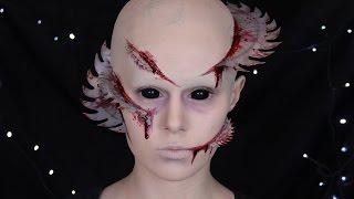 Halloween: Cabin in the Woods   Fornicus Makeup Tutorial