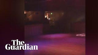 'Guys, run, go': man films as California gunman opens fire in bar